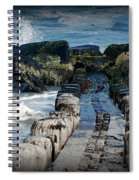 Surrounded By The Ocean - Jersey Shore Spiral Notebook