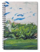 Surrounded With Clouds Spiral Notebook