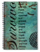 Survivor Spiral Notebook