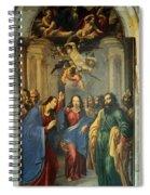 Sus Au Temple Spiral Notebook
