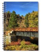 Susan River Bridge On The Bizz Spiral Notebook