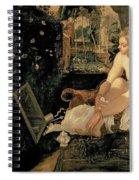 Susanna Bathing Spiral Notebook