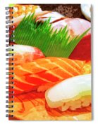 Sushi Plate 1 Spiral Notebook