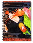 Sushi Plate 2 Spiral Notebook
