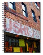 Sushi Samba Sketch Spiral Notebook