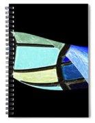 Suspended 1 Spiral Notebook
