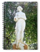 Suspended Beauty Spiral Notebook