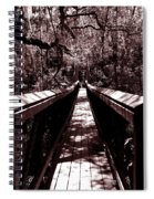 Suspension Bridge Spiral Notebook