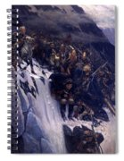 Suvorov Crossing The Alps In 1799 Spiral Notebook