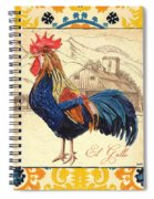 Suzani Rooster 1 Spiral Notebook
