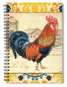 Suzani Rooster 2 Spiral Notebook