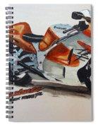 Suzuki Hayabusa Spiral Notebook