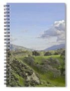Swallow Bay Cliffs Spiral Notebook