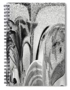 Swallows And Lillies Spiral Notebook