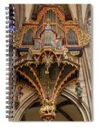 Swallows Nest Grand Organ Spiral Notebook