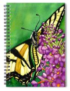 Swallowtail 1 Spiral Notebook