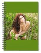 Swamp Beauty Eight Spiral Notebook