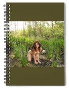 Swamp Beauty Four Spiral Notebook