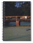 Swamp Bridge Spiral Notebook