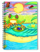 Swamp Life Spiral Notebook
