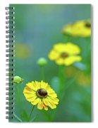 Swamp Sunflower Spiral Notebook