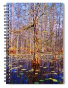 Swamp Tree Spiral Notebook