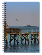 Swampscott Pier Swampscott Ma Spiral Notebook