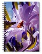 Swan... Spiral Notebook