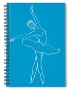 Swan Lake Dance Spiral Notebook