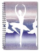 Swan Lake Spiral Notebook