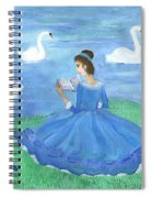 Swan Lake Reader Spiral Notebook