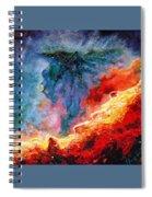 Swan Nebula Spiral Notebook