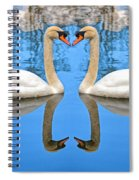 Swan Princess Spiral Notebook