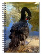 Swan Self Care Spiral Notebook