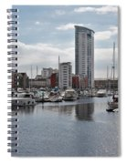 Swansea Marina Spiral Notebook