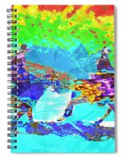 Sweating Fire Spiral Notebook
