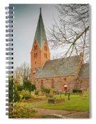 Swedish Brick Church Spiral Notebook