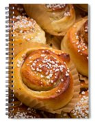 Swedish Cinnamon Rolls Spiral Notebook