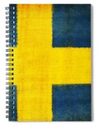 Swedish Flag Spiral Notebook