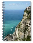 Sweeping Around The Amalfi Coast Spiral Notebook