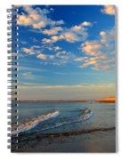 Sweeping Ocean View Spiral Notebook