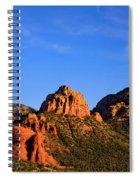 Sweeping Sedona Spiral Notebook