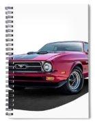 Sweet 72 Spiral Notebook