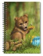 Sweet As Honey Spiral Notebook