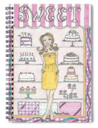 Sweet Birthday Spiral Notebook