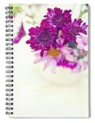 Sweet Bouquet Spiral Notebook