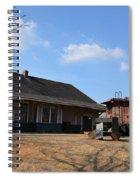 Sweet Briar Train Station Spiral Notebook