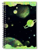 Sweet Dreams And Starry Nights Spiral Notebook