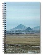 Sweet Grass Hills Pyramids Spiral Notebook