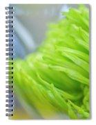 Sweet Green Mum Spiral Notebook